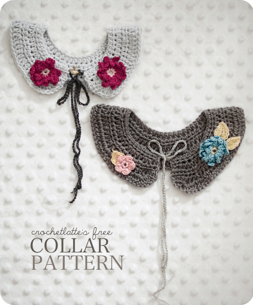 Flower Girl Collar – crochetlatte