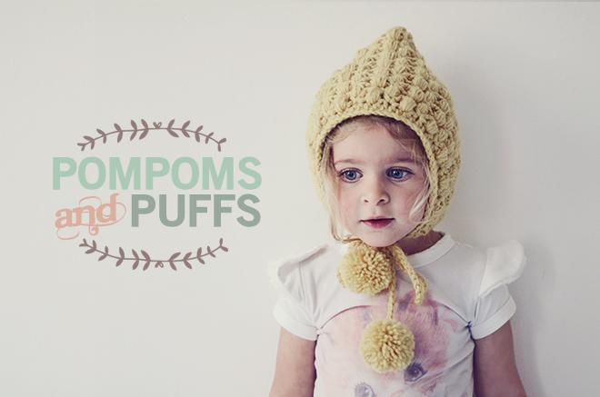 PomPoms and Puffs crochetlatte